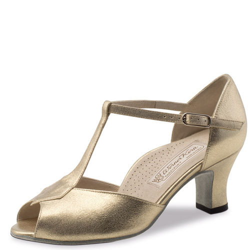 "Tanzschuh ""Paulette"", Comfort, Nappaleder, Perl nude"