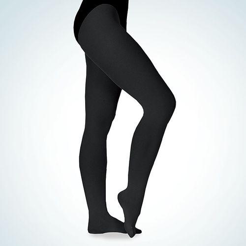 weiß oder schwarz Ballettstrumpfhose von Merlet M400 Microfaser lachs