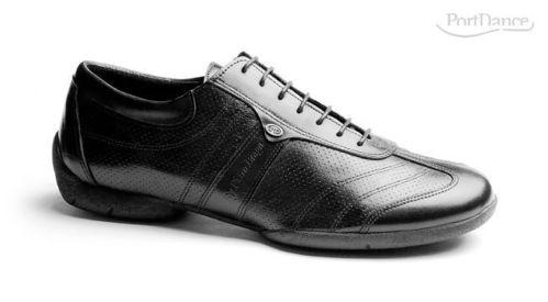 Neu Port Dance, Herren Tanzschuh, Leder, schwarz b0c6b55f4a
